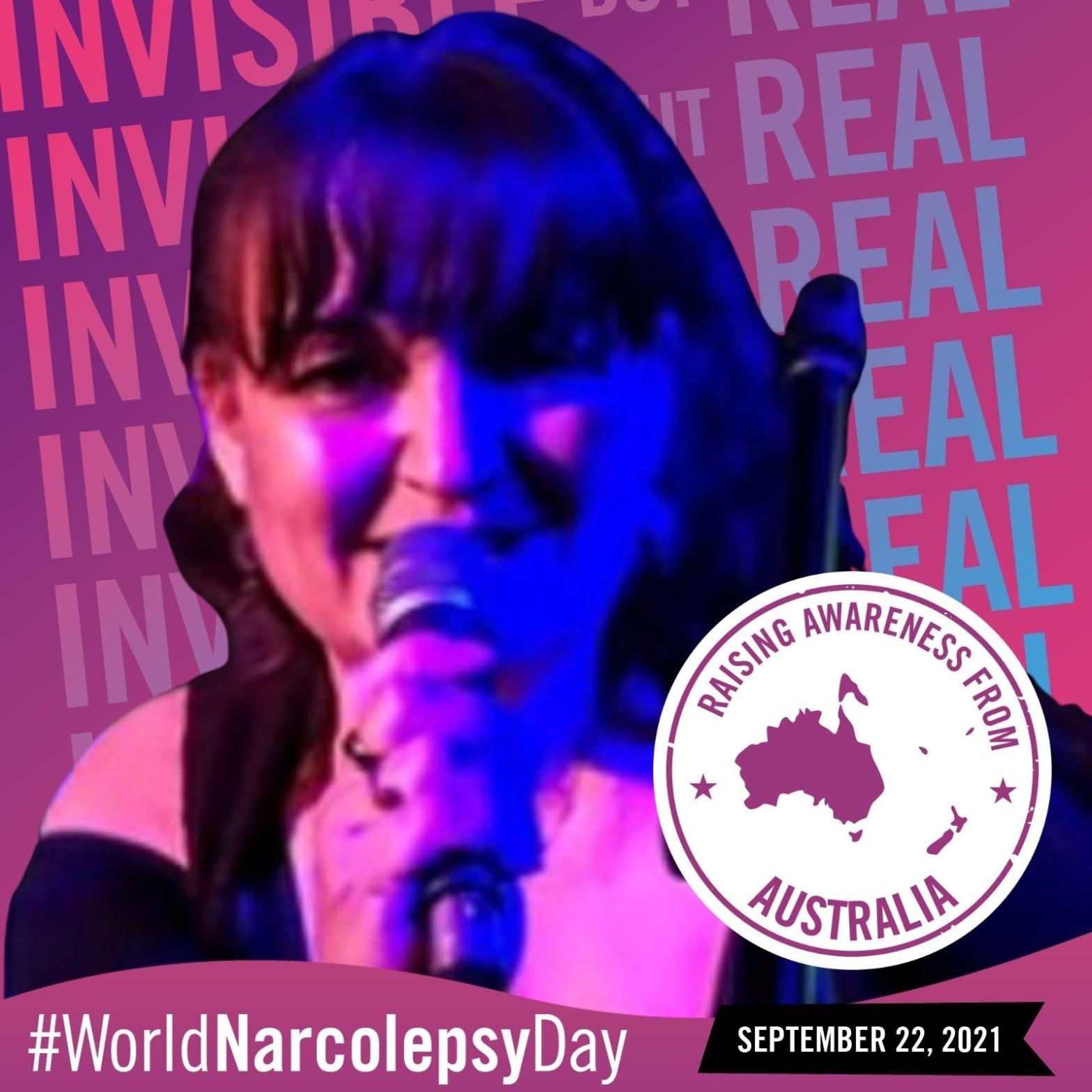 Raising awareness for World Narcolepsy Day